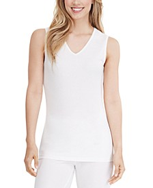 Softwear Lace-Edge V-Neck Tank Top