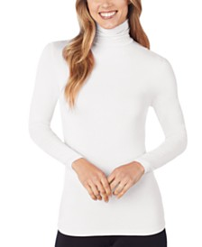 Cuddl Duds Softwear Stretch Long-Sleeve Turtleneck Top