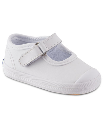 Keds Kids Shoes, Baby Girls or Toddler Girls Champion Toe-Cap Mary ...