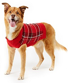 Plaid Dog Family Family Sweater, Created For Macy's