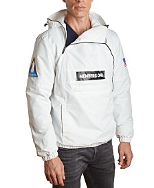 Member's Only Men's NASA Popover Jacket with Sleeve Patches