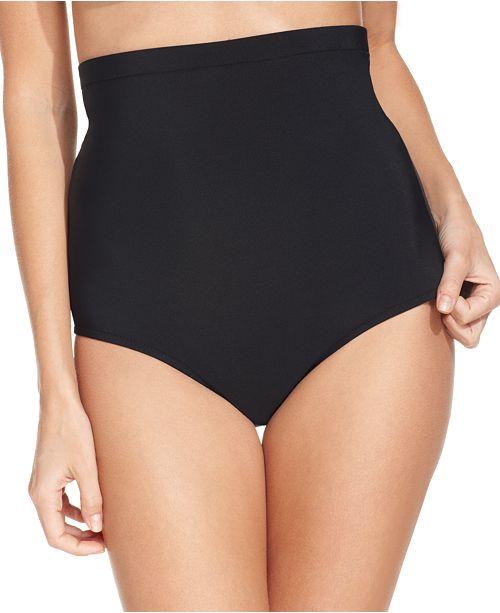 2f849e980f666 Swim Solutions Ultra High-Waist Tummy-Control Swim Bottoms   Reviews ...
