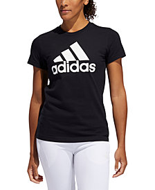 adidas Women's Cotton Badge of Sport T-Shirt