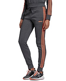 Essential Fleece 3-Stripe Pants