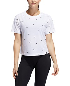 adidas Logo-Print T-Shirt
