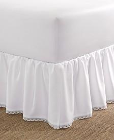 Laura Ashley Crochet Ruffle Full Bedskirt