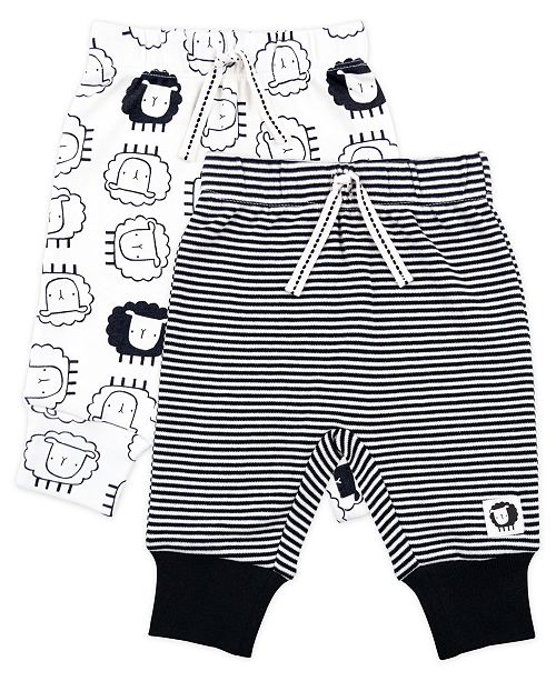 Mac & Moon Baby Boy and Girl 2-Pack Pant