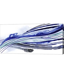 "Metaverse Wave Surge I by Grace Popp Canvas Art, 32"" x 16"""