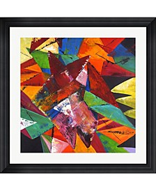 "Abstract Geo 2 by Claudia Framed Art, 32"" x 32"""