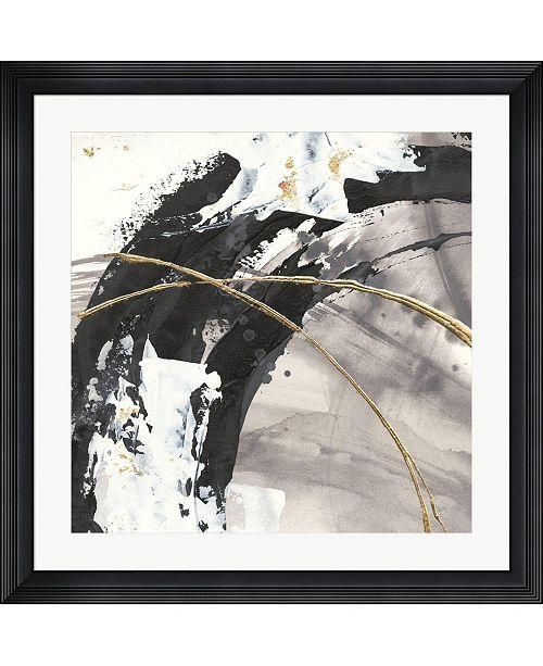 "Metaverse Gilded Arcs II by Chris Paschke Framed Art, 32"" x 32"""