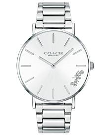 COACH Women's Perry Stainless Steel Bracelet Watch 36mm