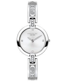 COACH Women's Chrystie Stainless Steel Bangle Bracelet Watch 26mm