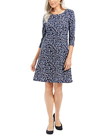 Nouvelle Floral Swing Dress, Created for Macy's
