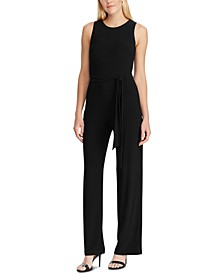 Self-Tie Jersey Jumpsuit