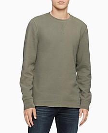 Men's Waffle Crewneck Sweatshirt