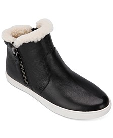 by Kenneth Cole Women's Carter Cozy High-Top Sneakers