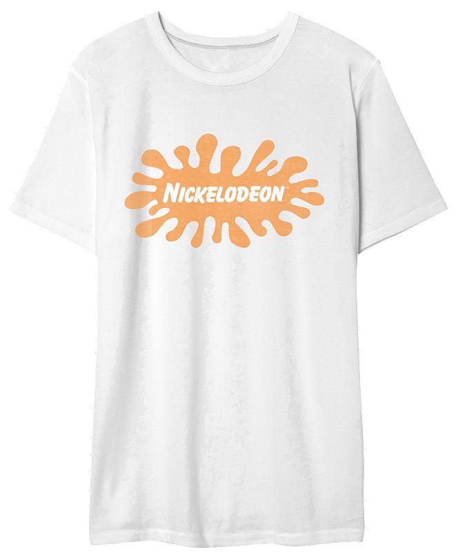 Hybrid Nickelodeon Men's Logo Graphic Tshirt