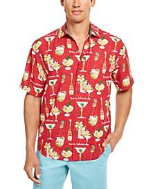 Men's Merry Martini Graphic Shirt