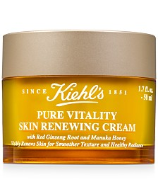 Kiehl's Since 1851 Pure Vitality Skin Renewing Cream, 1.7-oz.