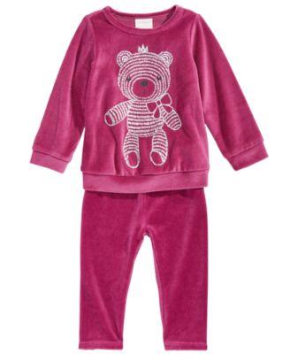 Baby Girls Velour Leggings, Created for Macy's