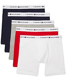 Men's 5-Pk. Cotton Classics Boxer Briefs
