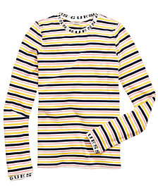 GUESS Big Girls Striped T-Shirt