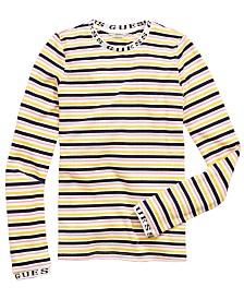 GUESS Big Girls Striped T-Shirt