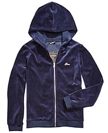 Big Girls Velour Active Hoodie