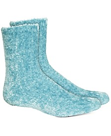 Women's Super Soft Chenille Butter Crew Socks, Created For Macy's