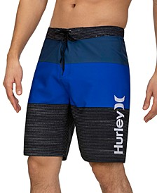 """Men's T-Street Colorblocked  20"""" Board Shorts"""