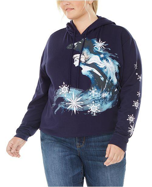 Love Tribe Disney by Trendy Plus Size Frozen Hoodie