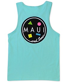 Maui and Sons Men's Cookie Logo Graphic Tank