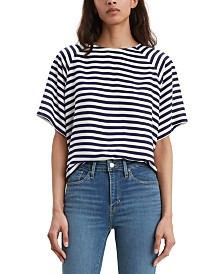 Levi's® Miranda Striped Crewneck T-Shirt