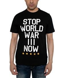 Sean John Men's World War III Graphic T-Shirt