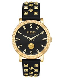 Women's Pigalle Black Leather Strap Watch 38mm