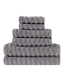 Zero Twist Cotton 6-Pc. Towel Set