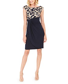 Petite Soutache Wrap Dress