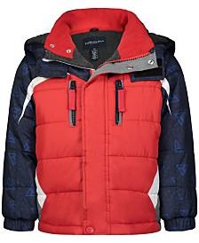 London Fog Toddler Boys Colorblocked Hooded Jacket