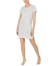 Striped Sleepshirt Nightgown