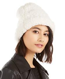 I.N.C. Teddy Faux-Fur Beanie, Created For Macy's