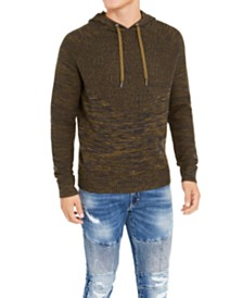 I.N.C. Men's Hooded Raglan Sweater, Created For Macy's