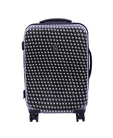 """FUL Metal Chain 20"""" Hard Sided Spinner Luggage"""