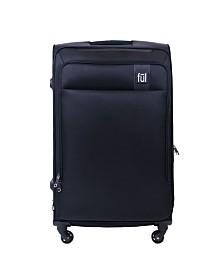 """FUL Flemington 29"""" Soft Sided Rolling Luggage Suitcase"""