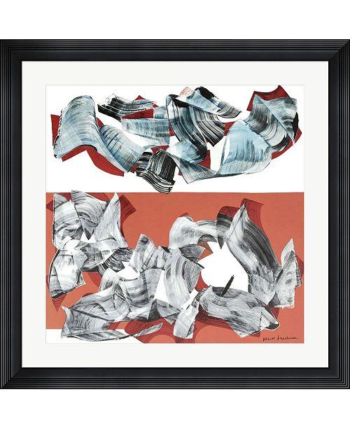 """Metaverse 2009, Giovedi 11 Giugno by Nino Mustica Framed Art, 32"""" x 32"""""""