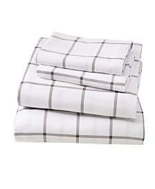 Great Bay Home Extra Soft Printed Twin Sheet Set