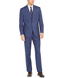 Men's Classic-Fit Micro-Dot Suit