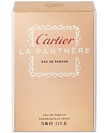Cartier La Panthère Eau de Parfum Spray, 2.5 oz