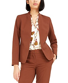 Princess-Seam Open-Front Blazer, Created For Macy's