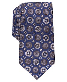 Tasso Elba Men's Classic Medallion Silk Tie, Created For Macy's