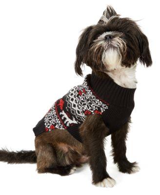 Fair-Isle Dog Family Family Sweater, Created For Macy's
